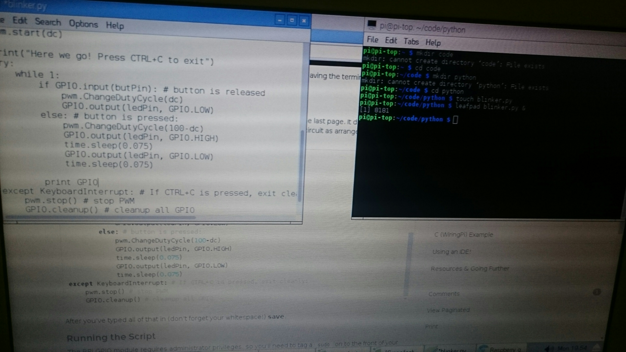 Raspberrypi Antwerpenhomeschooling Wiringpi Soft Pwm Example Try Watching This Video On Youtubecom Or Enable Javascript If It Is Disabled In Your Browser
