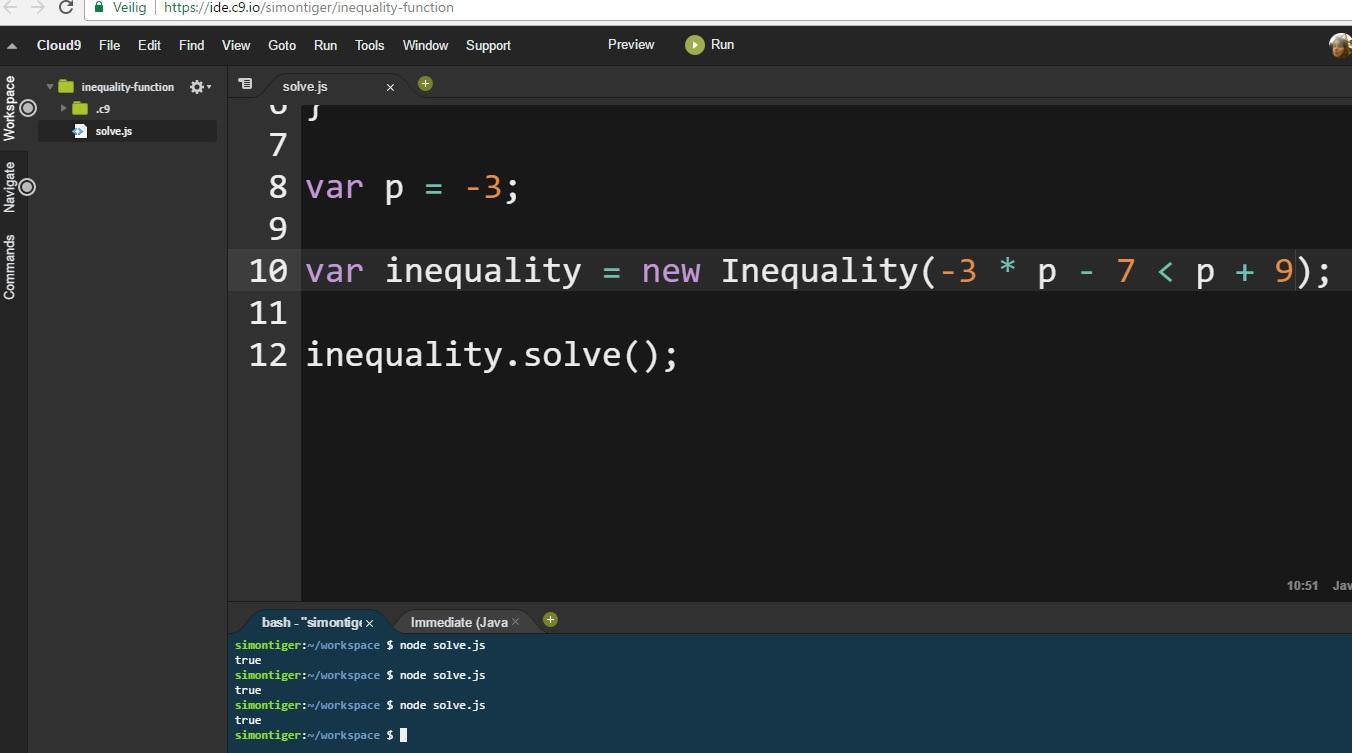 Inequality Machine 20 feb 2017