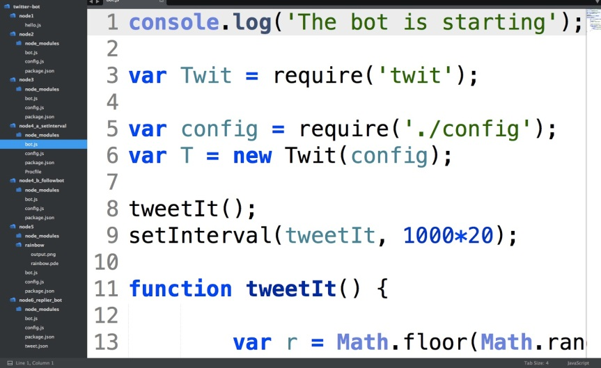 Screen Shot Twitter Bot 26 Mar 2017