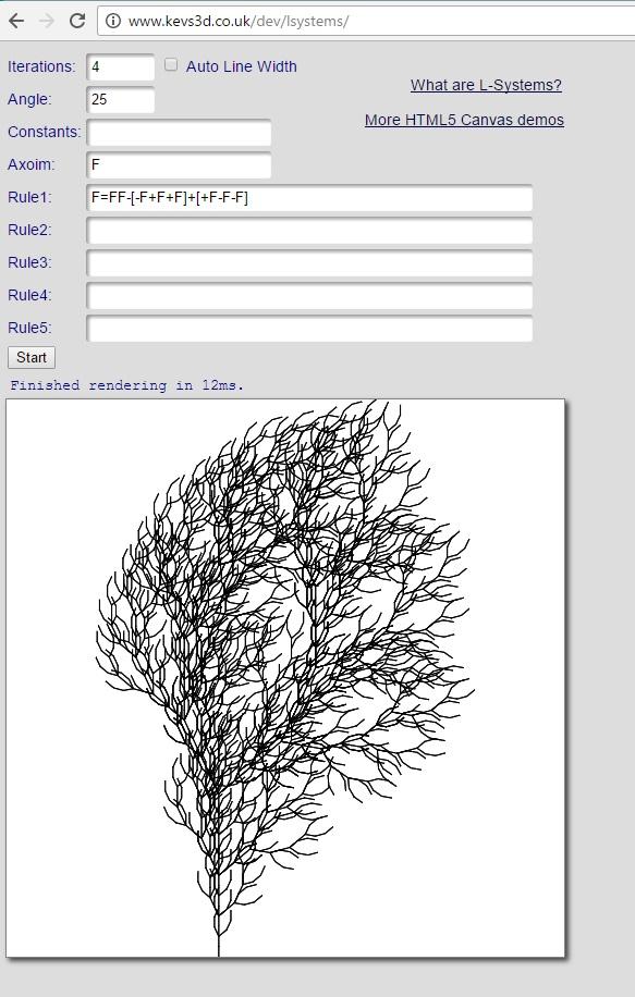 L_System Fractal Trees 15 Apr 2017 23