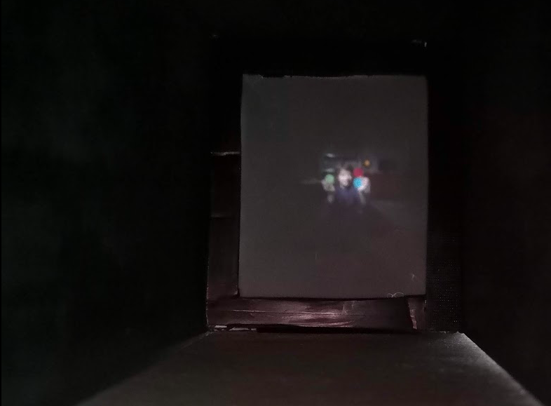 Experimenting with a CameraObscura